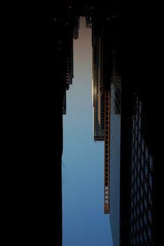 Buildings made of sky. photos by Peter Wegner