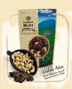 Cashews covered in 100% Dominican chocolate.