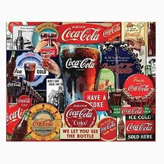 NEW Springbok Coca-Cola Decades of Tradition Jigsaw Puzzle (1000-Piece)