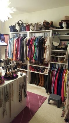 real dressing room, how to turn spare bedroom into walk in closet ...