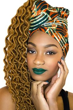 Stand out with this Wax fashion head wrap. It is custom made from imported 100% premium African cotton fabric our scarves are easy to tie and large enough for any style. A nicely done head wrap is an affordable fashion statement that will make you feel and look beautiful and a classy way of