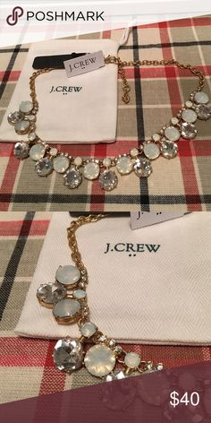 J crew full moon necklace NWT J crew full moon necklace. New with tags. Comes with gift bag. J. Crew Jewelry Necklaces