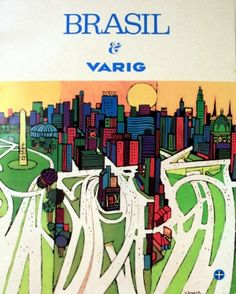 Nelson Jungbluth, Brazil by Varig, 1973