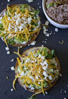 24. Oven-Baked Tostadas #quick #healthy #recipes http://greatist.com/eat/10-minute-recipes