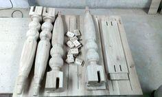 Masa cu picioare strunjite pentru Zachariasbrygen Solid Oak Furniture