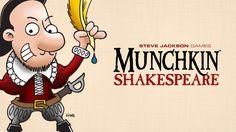 new #kickstarter project #crowdfunding Munchkin Shakespeare by Steve Jackson Games
