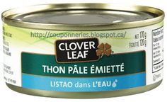 Coupons et Circulaires: 1$ CLOVER LEAF Thon