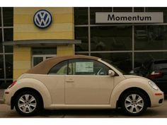 Harvest Moon Beige Volkswagen New Beetle Beetles Volkswagen, Volkswagen Bus, Vw Camper, Ferdinand Porsche, Pretty Cars, Cute Cars, My Dream Car, Dream Cars, Dream Life