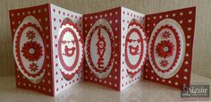 Angela Clerehugh – Oval Accordion Card – Die'sire Love Oval Overlay – Die'sire Create A Card Oval Accordion Card Die – Centura Pearl – Stick It – Collall Tacky Glue – Collall Gel Glue – Die'sire Flowers for all Occasions 3 – Red Liner Tape - Red Card – Ink (red) – Gems - #crafterscompanion