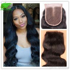 7a Cheap 4x4 3.5x4 Brazilian Body Wave Lace Closure Human Hair Closure Free… Middle Part Closure, Middle Parts, Sew In Weave, Brazilian Body Wave, Lace Closure, 4x4, Hairstyles, Free, Haircuts
