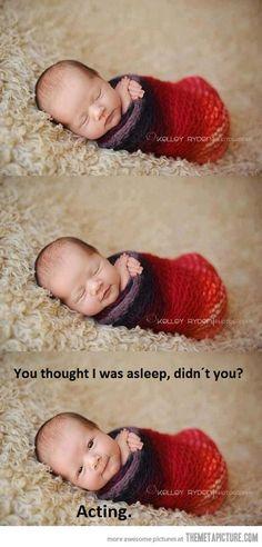 Patrick Stewart as a baby…