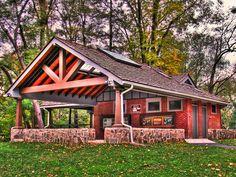 Picnic Pavilion | Photo by Kevin Borland. | Kevin Borland | Flickr