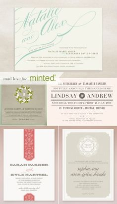 Minted Giveaway! Enter here: http://www.elizabethannedesigns.com/blog/2012/08/21/minted-giveaway/  Contest ends September 4, 2012