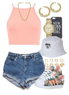 """Untitled #1255"" by power-beauty ❤ liked on Polyvore featuring Michael Kors, ASOS, Stussy, Miss Selfridge, adidas and Kenneth Jay Lane"