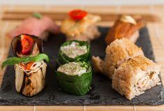"""Una versione del sushi che incontra i gusti italiani e le scelte alimentari di tutti. Alla base c'è il riso… il resto lo decidete voi! Dai blogger di """"Acqua e Menta"""""""