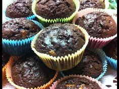 Receta: Muffins veganos de chocolate y banana / vegan muffins