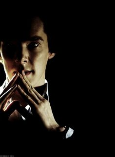 Sherlock. Love the dramatic lighting!