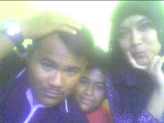 with my brother's