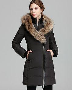 Mackage Down Coat - Trish Lavish Fur Trim Hood | Bloomingdale's