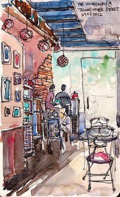Muffinry @ Telok Ayer Street by PaulArtSG, via Flickr