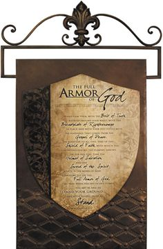 To be able to stand, clothed in and protected by the full armor of God.this is what I endeavor to teach my children, what I pray for them, and what I learn right along side them. Spiritual Warrior, Spiritual Warfare, Spiritual Life, Scripture Cards, Scripture Study, Bible Verses, Scriptures, Armor Of God, Vacation Bible School