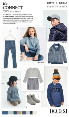 Emily Kiddy: [K.I.D.S] Autumn | Winter 2019 / 20 _ RE_Connect (Trend Overview)