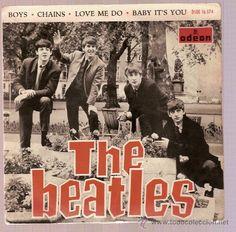 "The Beatles - ""Boys"" Beatles Album Covers, Beatles Albums, Lps, Beatles Singles, Les Beatles, Beatles Art, Beatles Photos, Lp Cover, Cover Art"