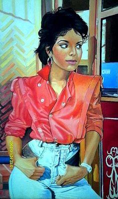 Janet Jackson84 by Jesse4art