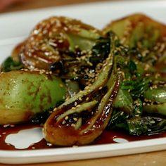 A Sriracha-y Side Dish Starring Bok Choy - Video
