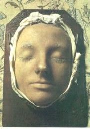 Purportedly the death mask of Mary, Queen of Scots    http://artduh.com/2011/11/20/the-death-mask/