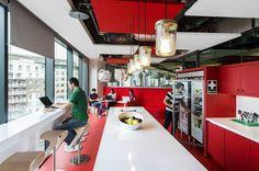 Aydınlatma ve Dekor Dünyasından Gelişmeler: Camenzind Evolution'dan The Google Dublin Kampüsü #lighting #design #tasarim #dekor #decor