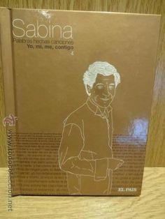 SABINA. PALABRAS HECHAS CANCIONES / YO, MI, ME, CONTIGO -  LIBRO CD - 13 TEMAS / CALIDAD LUJO.