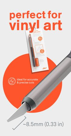 Learn why Fortune 1000 companies, as well as crafters and artists love the Slice ceramic safety Craft Knife, with its effective finger-friendly blade. Safety Crafts, Craft Cutter, Scan And Cut, Vinyl Projects, Craft Projects, Vinyl Cutting, Silhouette Cameo Projects, Cricut Vinyl, Craft Materials