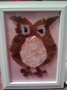 My owl I made for Jordan's Brithday