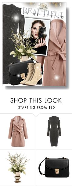"""Untitled #786"" by beautifulplace ❤ liked on Polyvore featuring Warehouse, John-Richard, MANGO and Chloé"