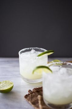 How to Make the Perfect Margarita on the Rocks | Flourishing Foodie