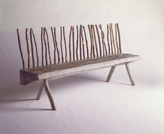 Thicket bench Fun and unique concept for a nature lover's space!