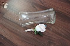 Blush Rose Bud Boutonniere - Venue and reception decor (*Amazon Partner-Link)