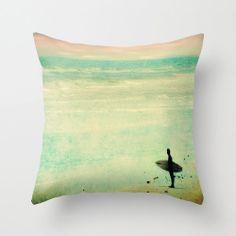 Beach surf pillow