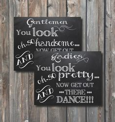 Wedding Bathroom Signs –You Look Oh So Pretty–Ladies Bathroom Sign–Gents Restroom Sign–8x10 Printable Sign-Toiletries Sign-Chalkboard Signs