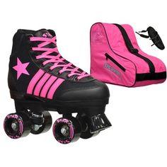 Shop for Epic Star Vela Black and Pink High-Top Quad Roller Skates Package. Get free delivery at Overstock.com - Your Online Sports