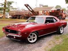 1969 Camaro Gorgeous Candy Apple Red.!..Re-pin...Brought to you by #CarInsurance at #HouseofInsurance in Eugene, Oregon