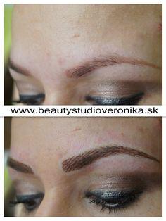 Permanent Make-up – Methode: gezeichnete Härchenlinien
