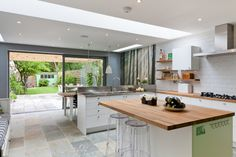 Evelyn Road - contemporary - Kitchen - London - 50 Degrees North Architects