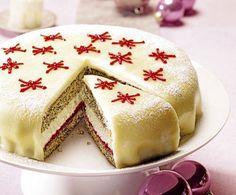 Torten-Rezept: Mohn-Marzipan-Torte
