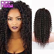 melhor+cabelo+humano+bizarro+dianteira+do+laço+cacheados+vender+perucas+#+1b+parte+do+meio+encaracolados+perucas+para+as+mulheres+negras+–+EUR+€+82.93