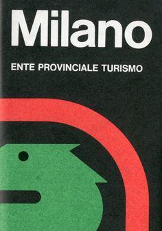 Milano, carta turistica della Città di Milano. A cura dell'Ufficio propaganda dell'Ente Provinciale per il Turismo. Stampa: Arti Grafcihe Ricordi. Progetto grafico di Ilio Negri, (1926-1974)