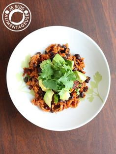 Mexican Rice and Beans from alimentageuse.com - A perfect lunch or ...