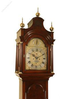 Antique Longcase Clocks, Rare London Longcase Clock By Taylor With Alarm. An elegant London Longcase Clock with rare Alarm feature. Grandmother Clock, Rare London, Clocks, February, Luxury, Antiques, Wood, Vintage, Home Decor