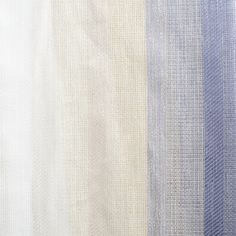 Luxury striped casement sheer, with graduated colour affect